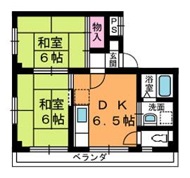 賃貸マンション 三協アメニティ2 間取り図面(港区波除)